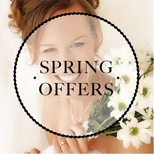 Click here to find out about our Spring seasonal wedding offer