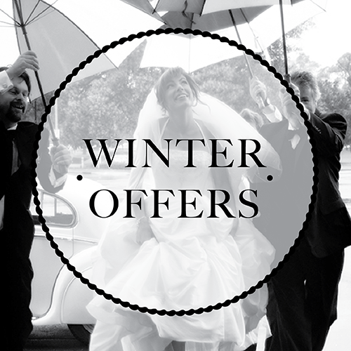 Click here to find out about our winter seasonal wedding offer