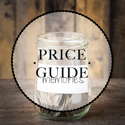 Click here for some price guide information